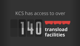 KCS transload facilities